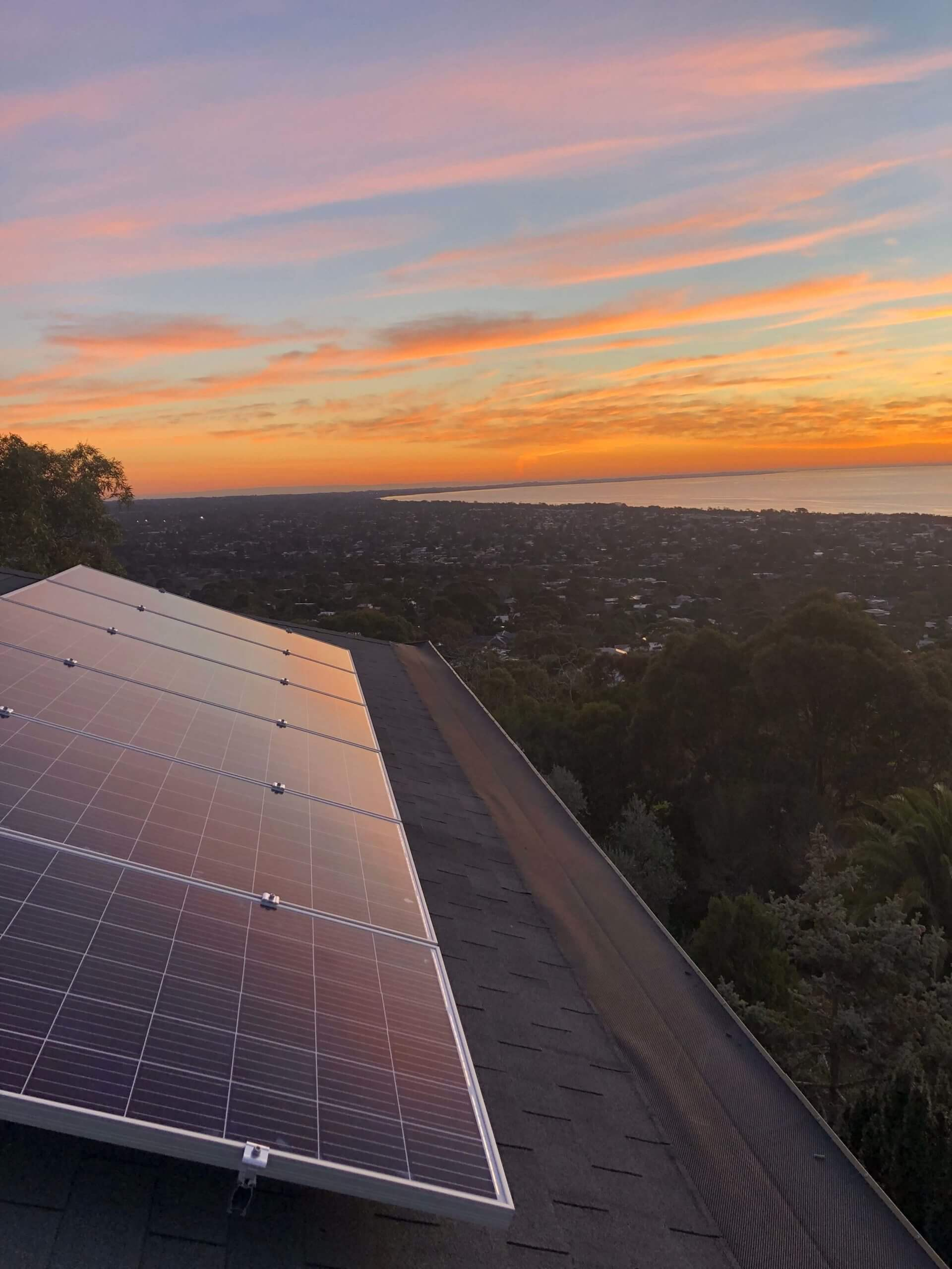 Solar Panels on the Mornington Peninsula